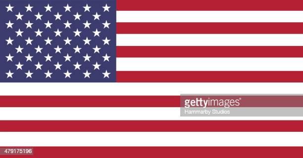 Full frame image of American flag