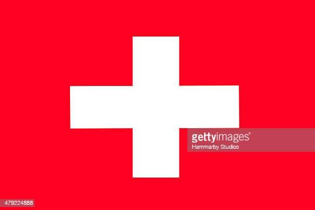 Full-frame-Bild der Schweiz Flagge