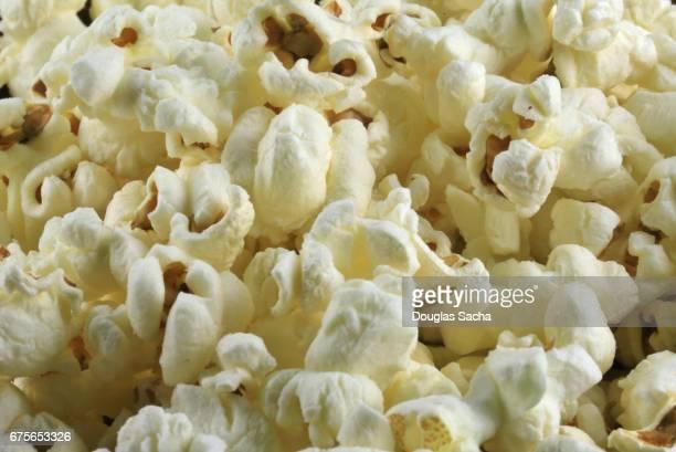Full frame of popcorn snack