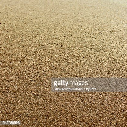 Full Frame Shot Of Beach Sand