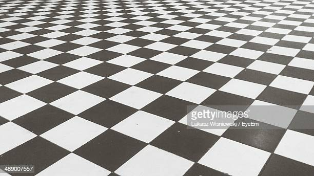 Full frame shot of checked floor