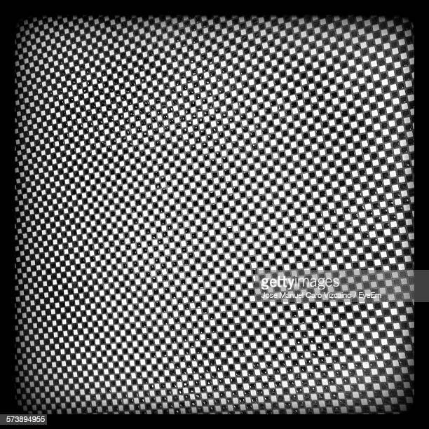 Full Frame Shot Of Checked Pattern