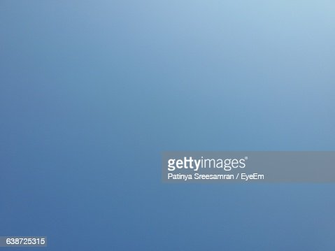 Full Frame Shot Of Clear Blue Sky : Stockfoto