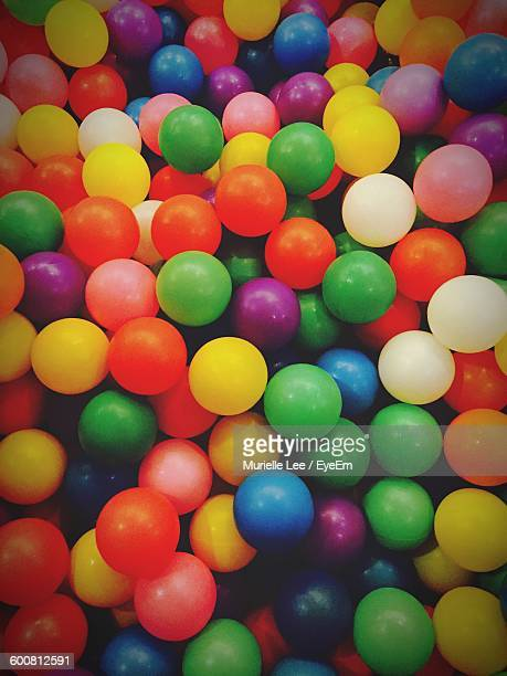 Full Frame Shot Of Colorful Balloons