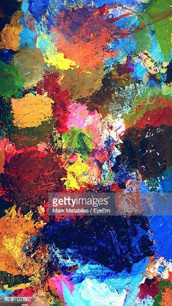 Full Frame Shot Of Colorful Palette