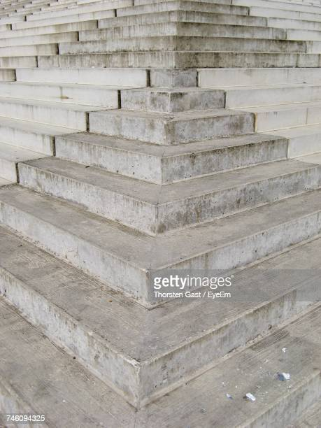 Full Frame Shot Of Concrete Stairs