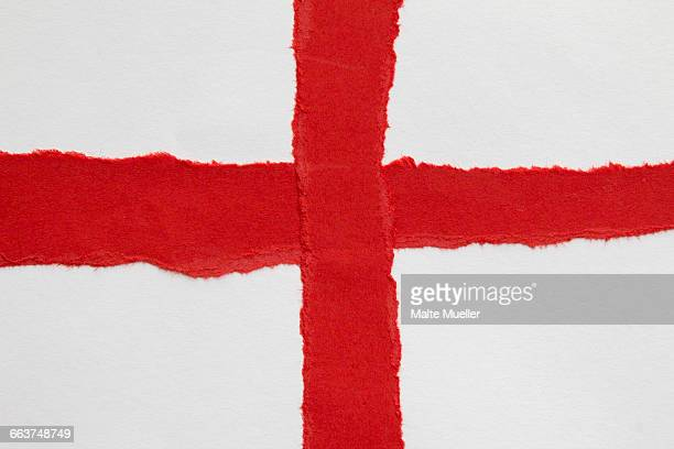 Full frame shot of English flag