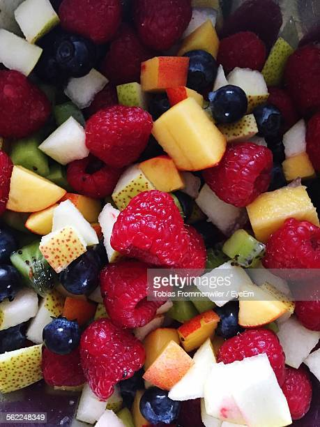 Full Frame Shot Of Fruit Salad