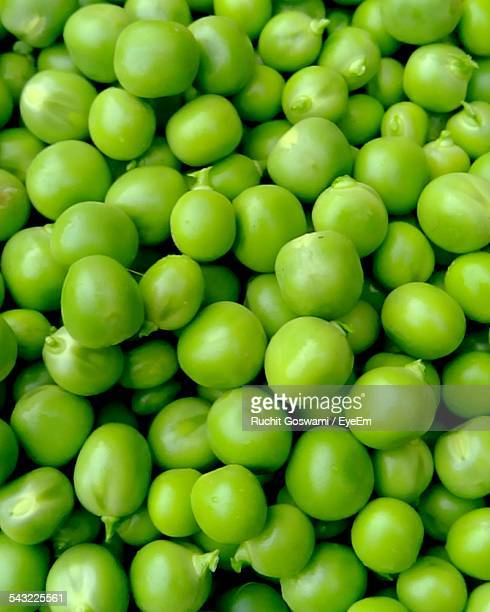 Full Frame Shot Of Green Peas