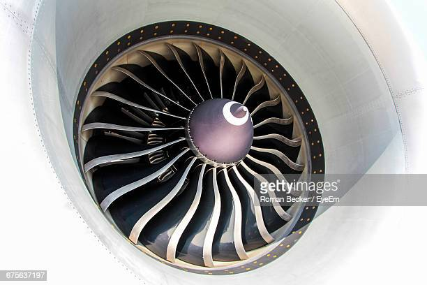 Full Frame Shot Of Jet Engine