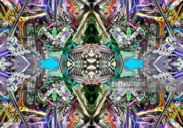 Full Frame Shot Of Kaleidoscope Pattern