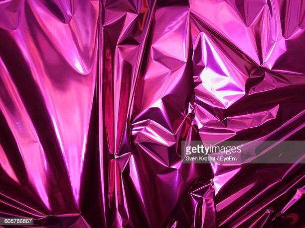 Full Frame Shot Of Magenta Wrapping Paper