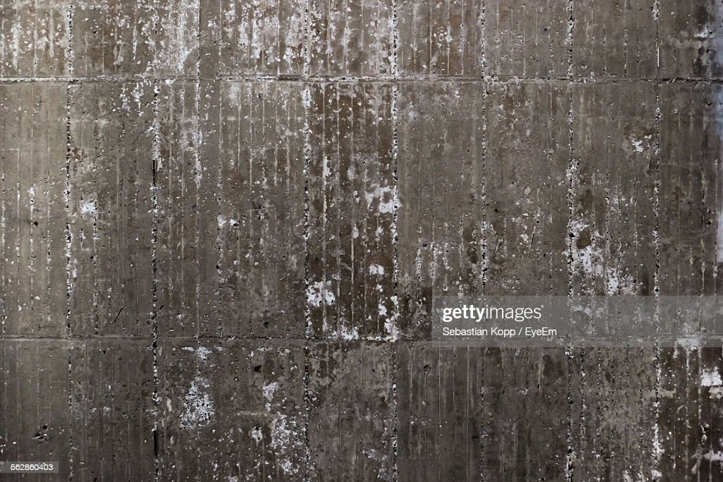 Full Frame Shot Of Old Concrete Wall