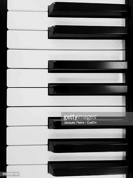 Full Frame Shot Of Piano Keys