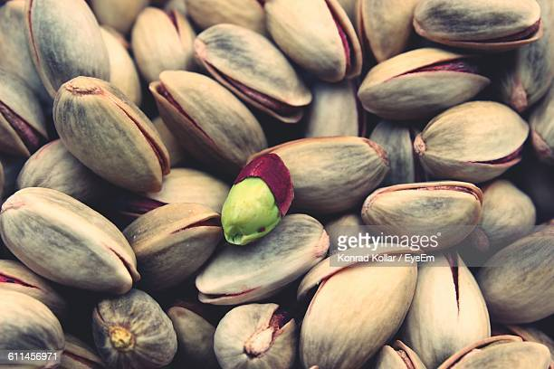 Full Frame Shot Of Pistachios