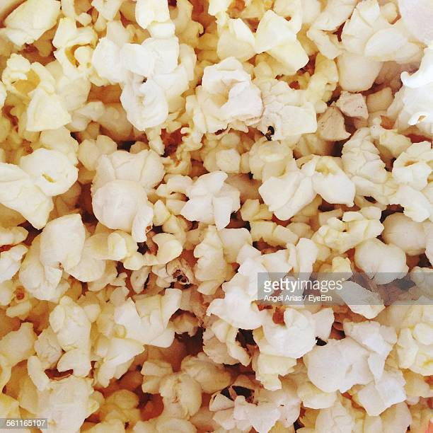 Full Frame Shot Of Popcorns