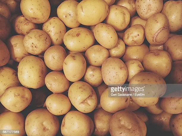 Full Frame Shot Of Potatoes