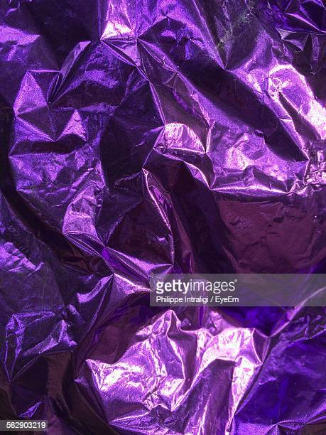 Full Frame Shot Of Purple Wrapping Paper