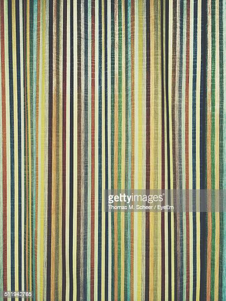 Full frame shot of striped fabric