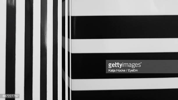 Full Frame Shot Of Striped Wall