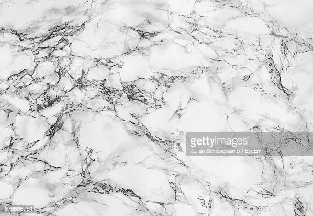 Full Frame Shot Of White Marble Floor