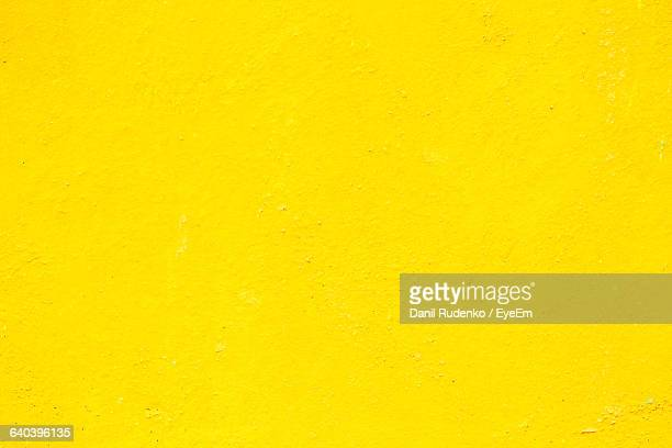 Full Frame Shot Of Yellow Wall