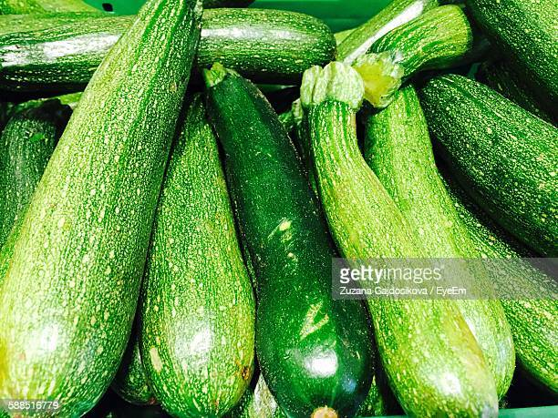Full Frame Shot Of Zucchini