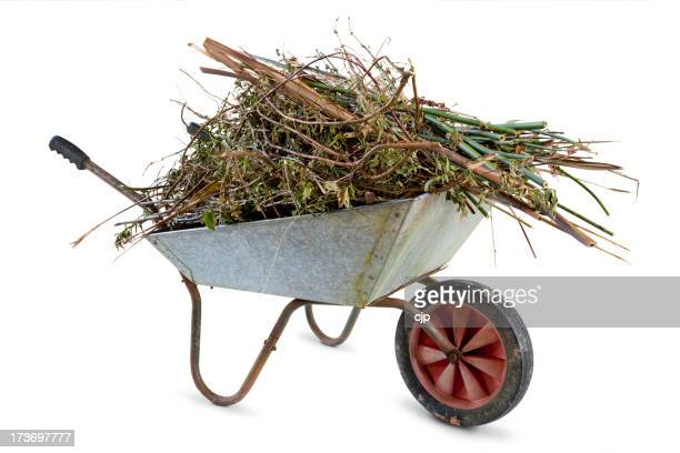 Full Garden Wheelbarrow
