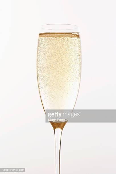 Full glass of champagne