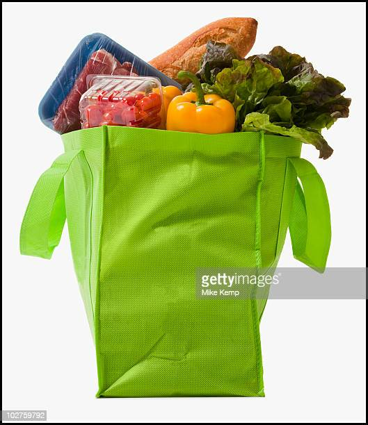 Full grocery bag