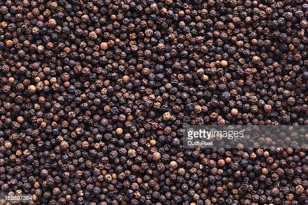 Full image of peppercorns as a background