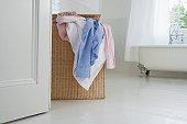 Full Laundry Hamper