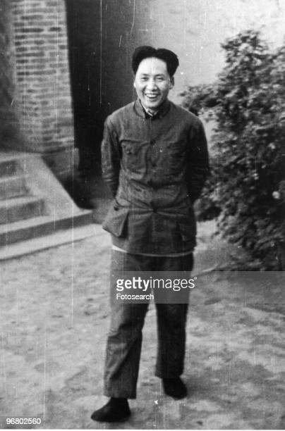 Full length portrait of Chairman Mao Zedong circa 1930s