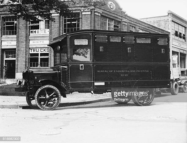 1926A full lengthview of Treasury Department Armoured car