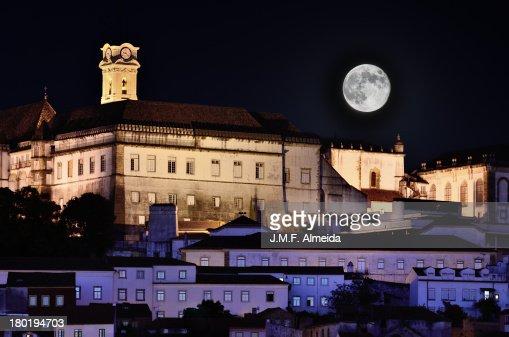 Full Moon at Coimbra