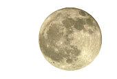 Full Moon, Isolated