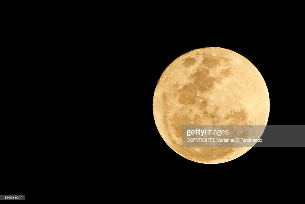 Full Moon of Love : Stock Photo