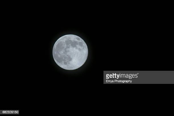 Full moon on May 10th, 2017