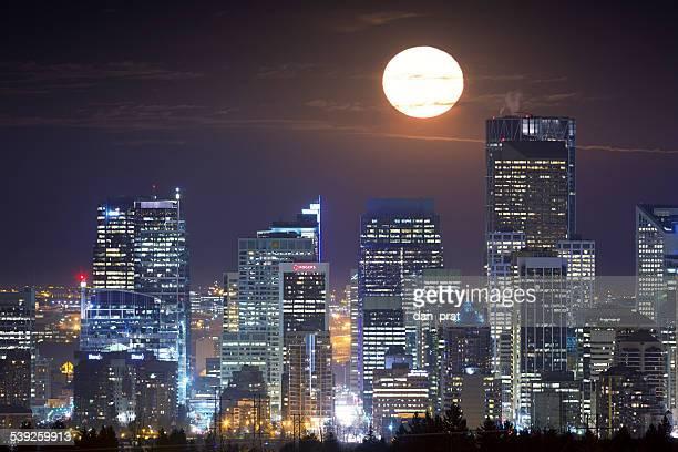Full Moon Over Calgary