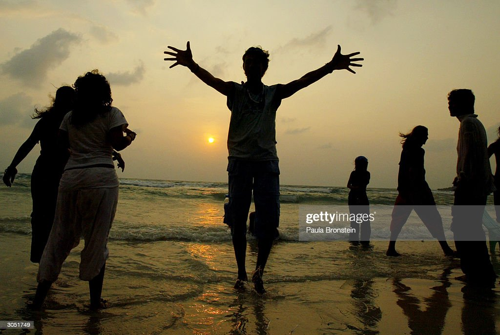 Full Moon Party In Thailand : Stock Photo
