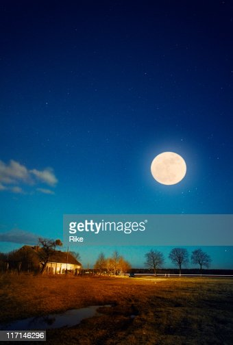 Full Moon Tonight Stock Photo | Getty Images