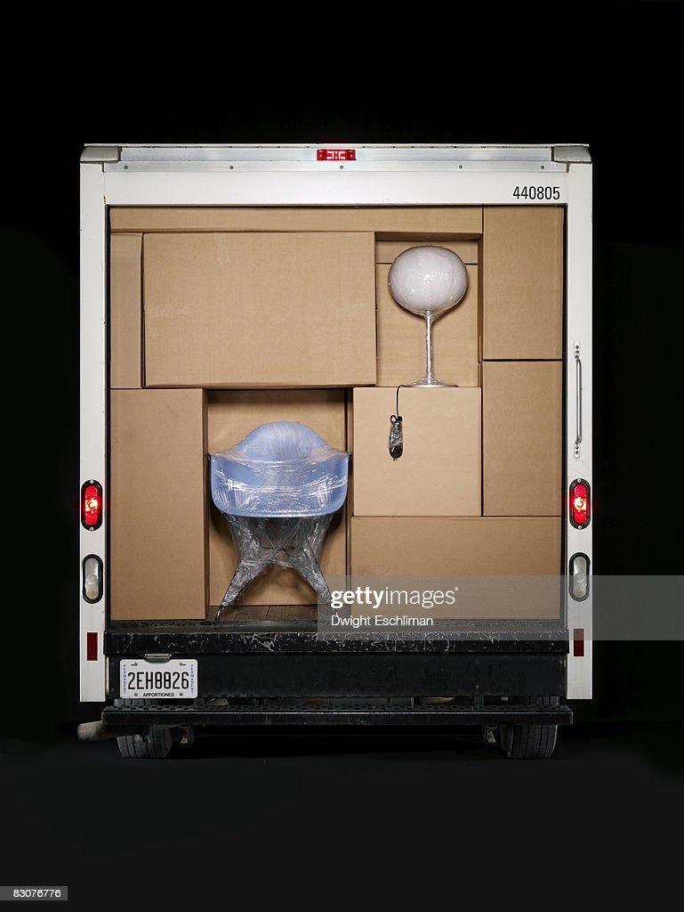 A full moving van