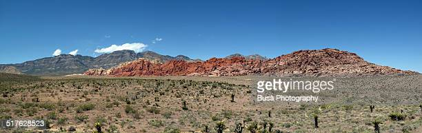 Full panoramic view of Red Rock Canyon, Nevada