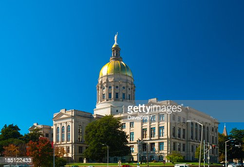 A full photo of the Georgia State Capitol Building