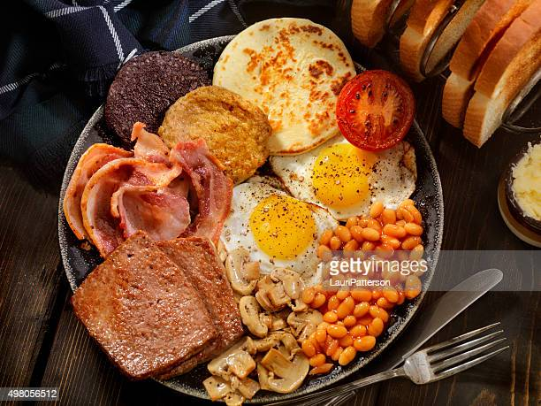 Full Traditional Scottish Breakfast