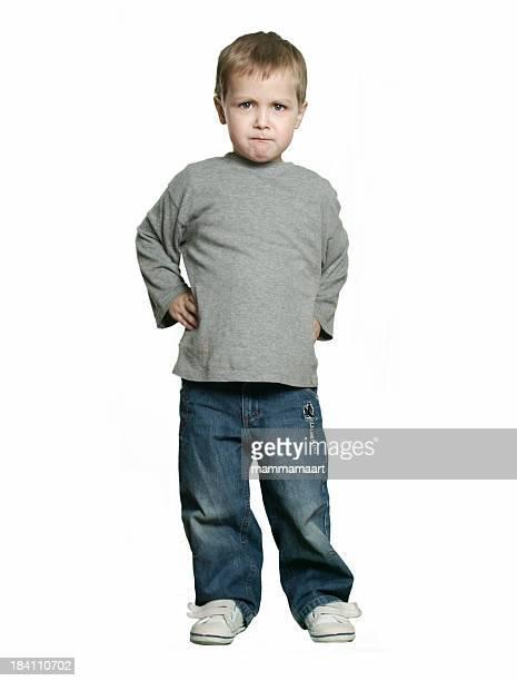 Fullbody - Angry Boy
