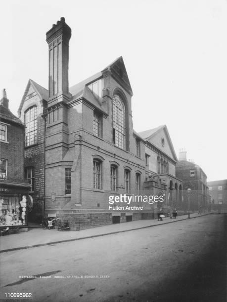Fuller House Chapel and schools Kettering Northamptonshire circa 1930