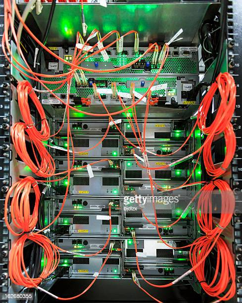 Fully wired network switch panel