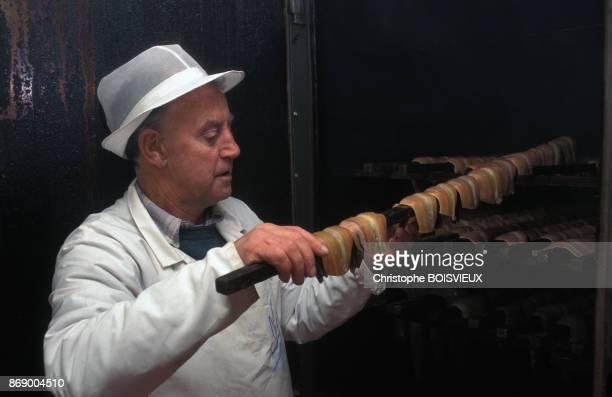 Fumerie de poissons a Howth pres de Dublin en Irlande