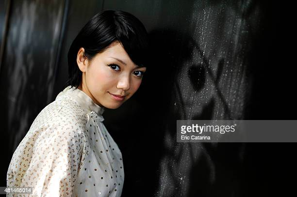 Fumi Nikaido is photographed for Self Assignment on September 1 2011 in Venice Italy